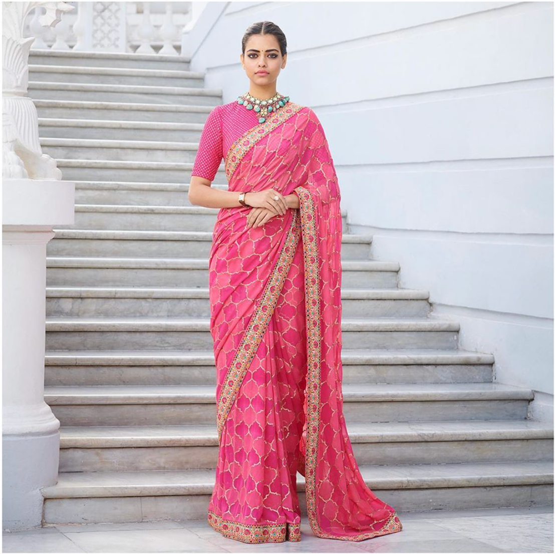 Sabyasachi Summer 2020 Summer Wedding Jaisalmer Sari - The Grand Trunk