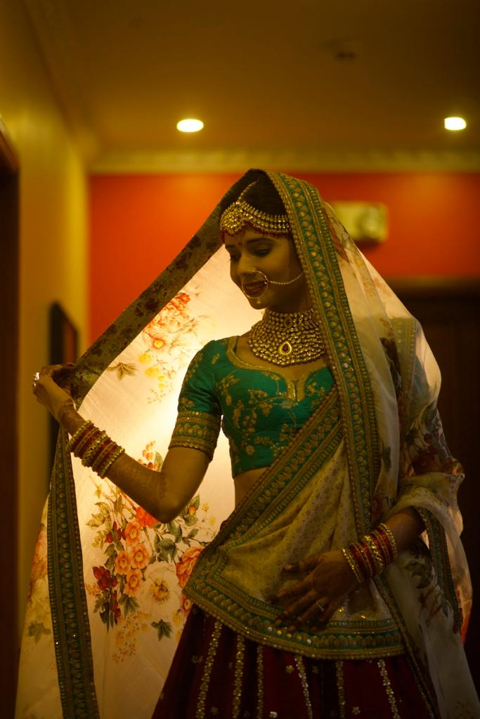 Real Bride Shashwati in Sabyasachi @ The Grand Trunk - The Grand Trunk