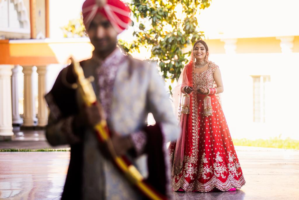 Real Bride Simi in Anushree Reddy @The Grand Trunk - The Grand Trunk