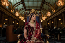 Load image into Gallery viewer, Real Bride Sukhna in Sabyasachi @ The Grand Trunk - The Grand Trunk