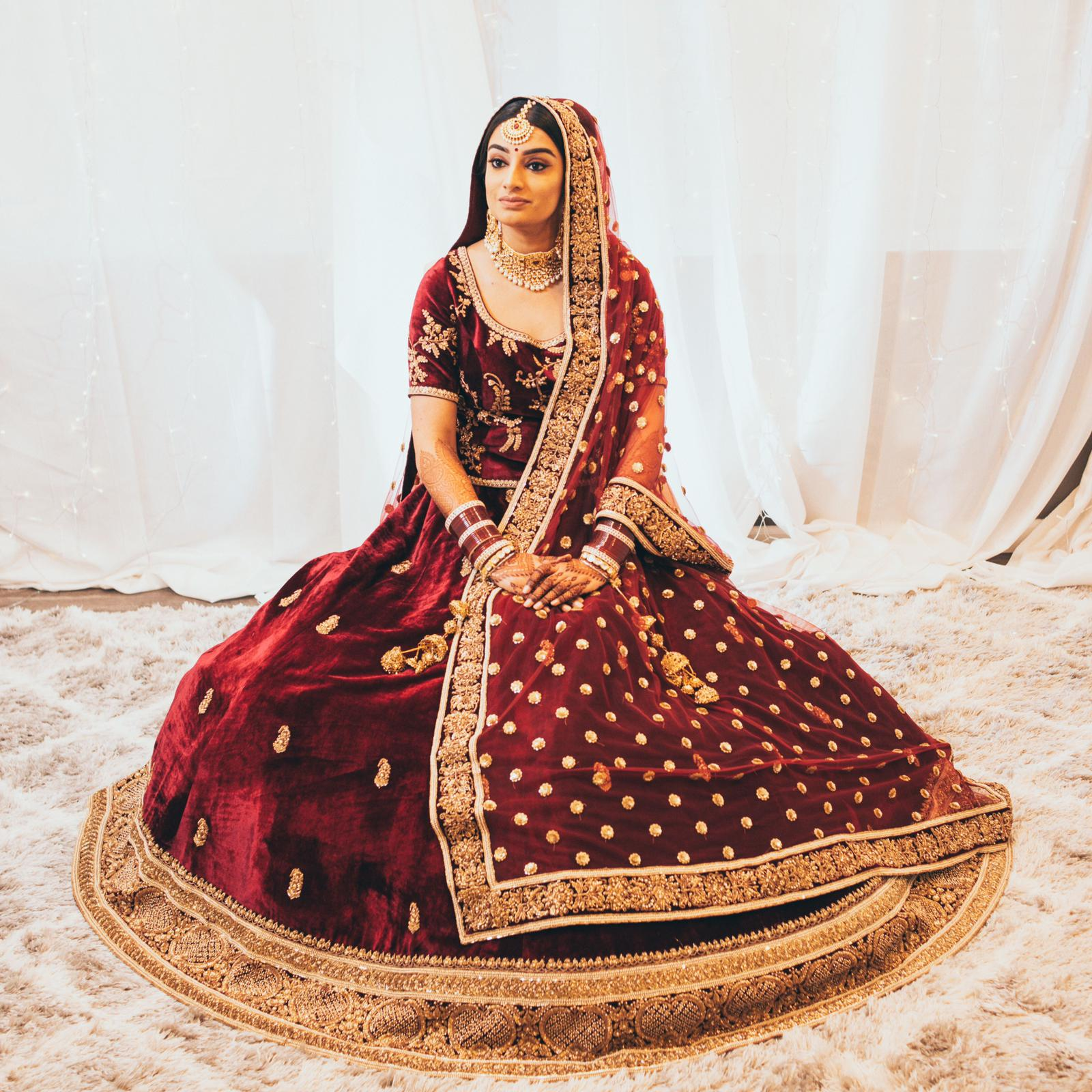 Real Bride Sukhna in Sabyasachi @ The Grand Trunk - The Grand Trunk
