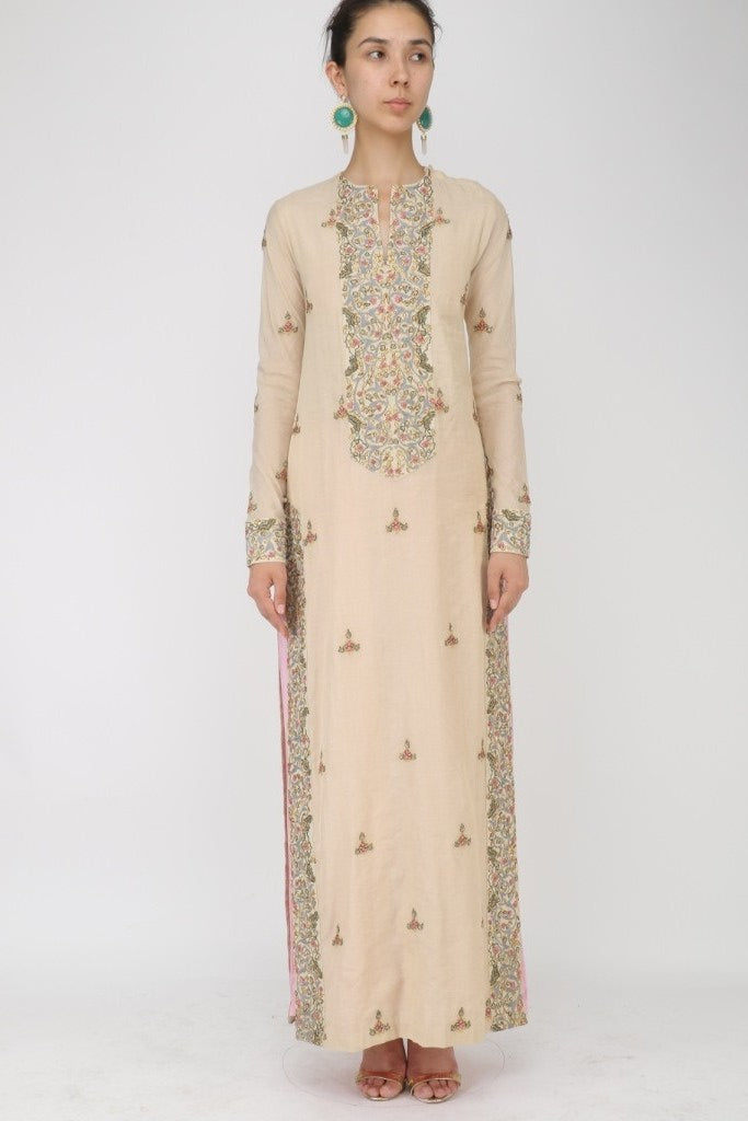 Embroidered Kurta & Churidar set