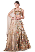 Load image into Gallery viewer, Embellished Lehenga, Blouse & Dupatta set - The Grand Trunk
