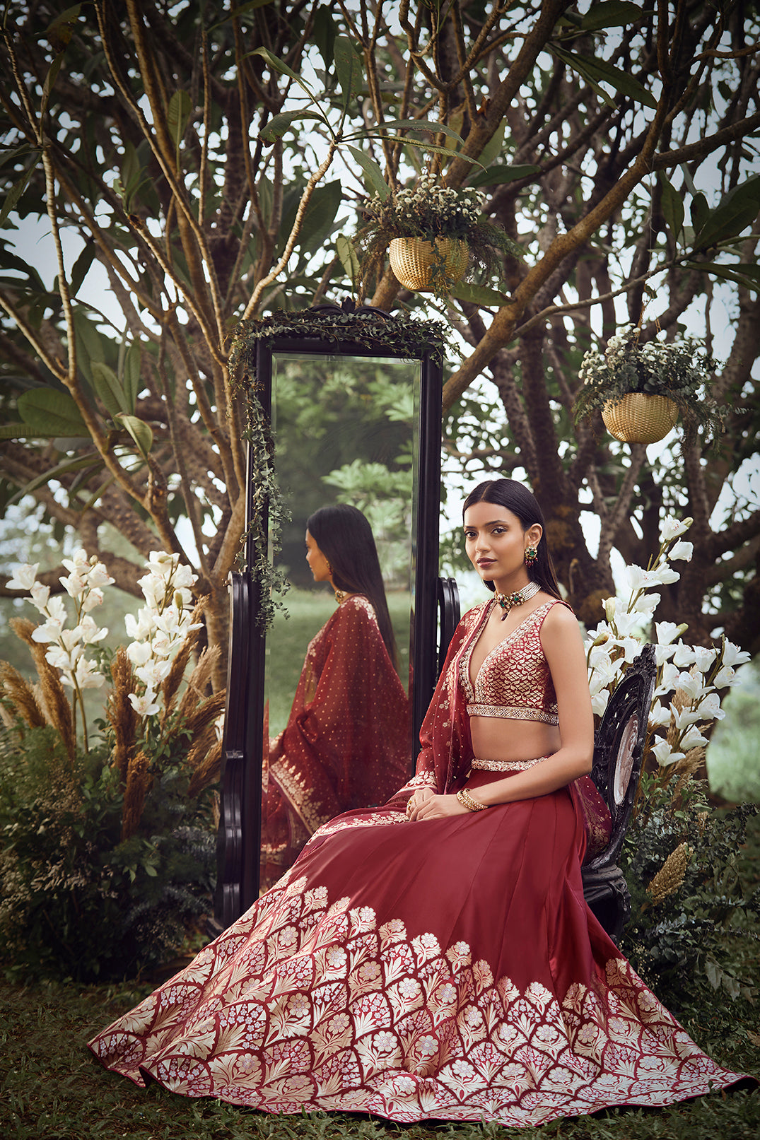 Vinaya Lehenga - Wine - The Grand Trunk