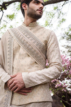Load image into Gallery viewer, Gold Rawsilk with Self Threadwork Embroidery - The Grand Trunk