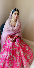 Load image into Gallery viewer, Real Bride Eshu in Anushree Reddy Lehenga @ The Grand Trunk - The Grand Trunk