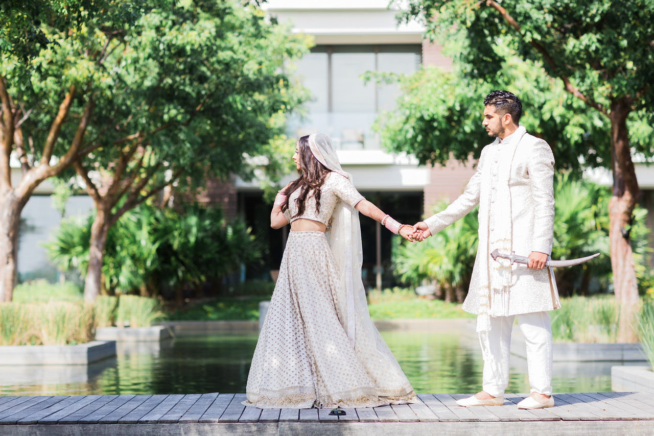 Real Bride Komal Chohan in Sabyasachi @ The Grand Trunk - The Grand Trunk