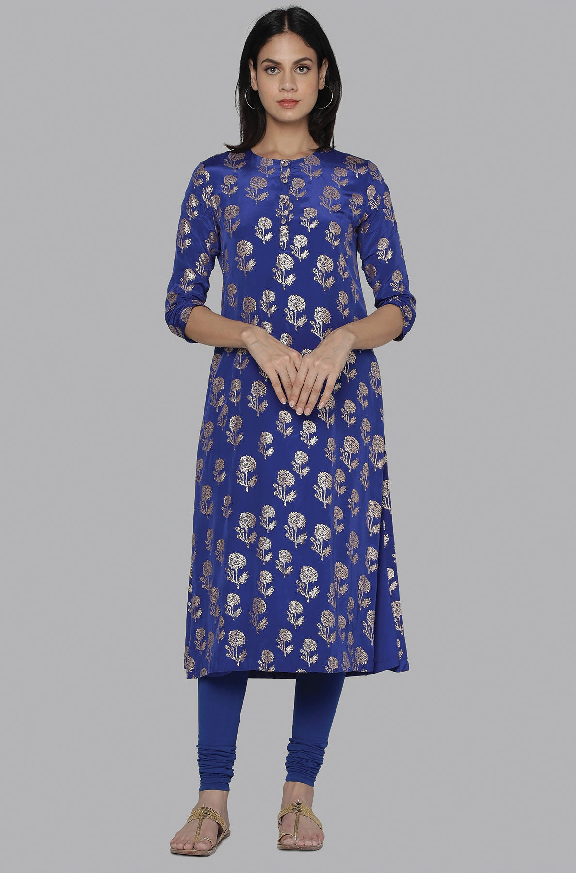 BLUE MARIGOLD TUNIC - The Grand Trunk