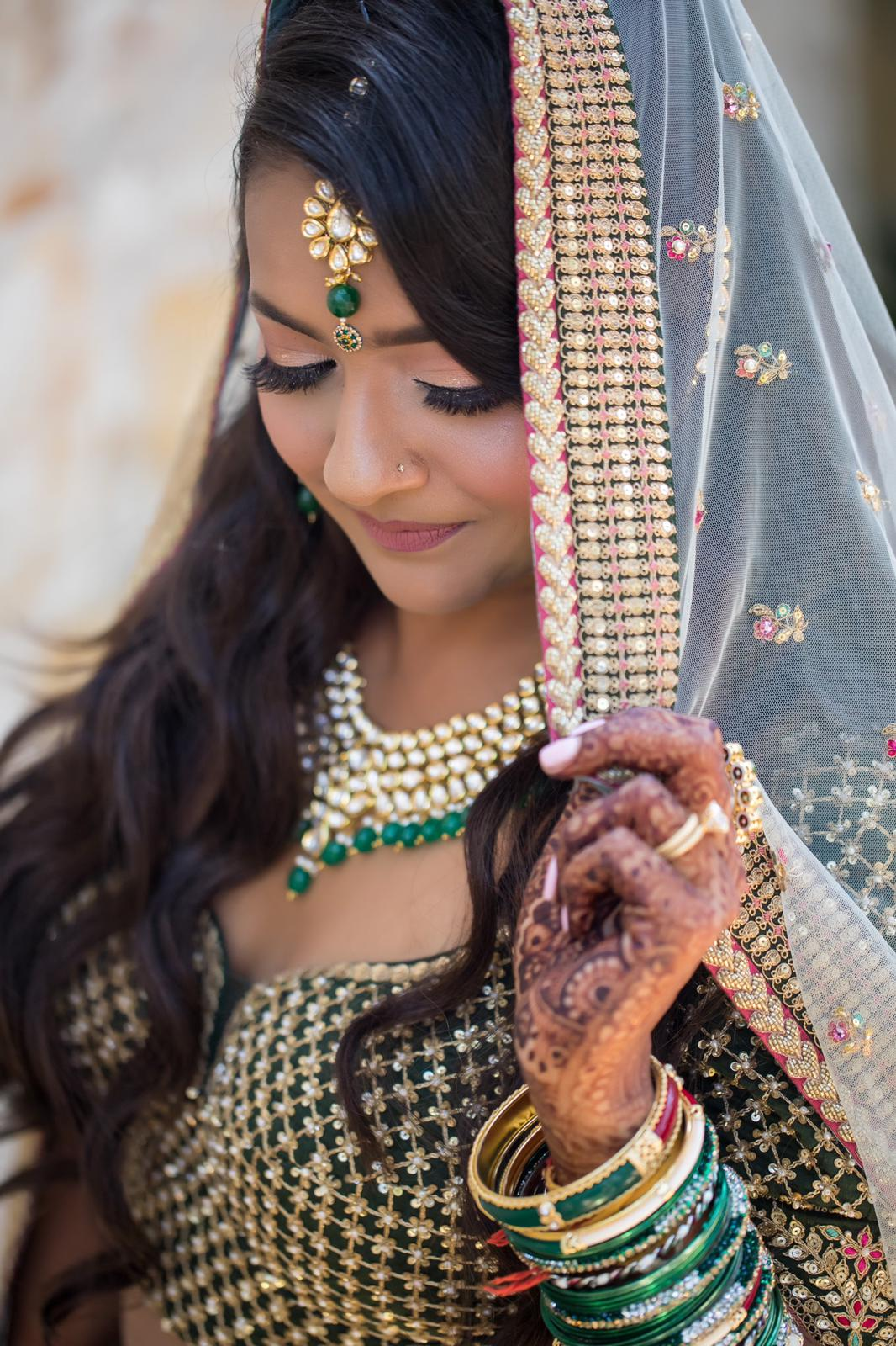 Real Bride Ragini Shyam in Sabyasachi @ The Grand Trunk - The Grand Trunk