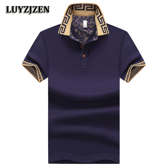 e3cd3dd706a Poloshirts Men 2018 New Arrival Male Cotton Casual Summer Short Sleeve  Business Polo Shirts Classical Polos