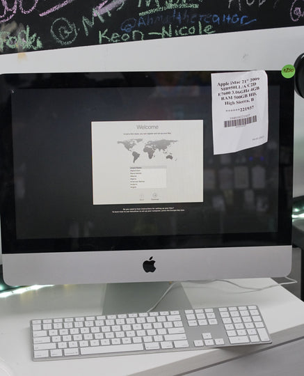 Apple iMac 21.5in (2009) Core 2 Duo 4GB 500GB HDD Sierra