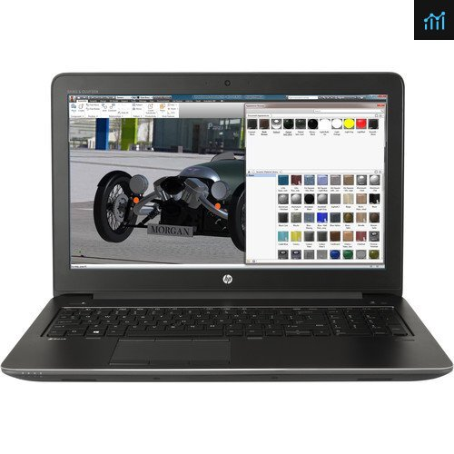 HP Z Book intel Core i7 8GB - 160GB HDD - Windows 10