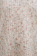Load image into Gallery viewer, Layered Sleeve Multi Color Knit Top, Light Pink - The Hamilton Knit