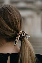 Load image into Gallery viewer, Leopard Velvet Scrunchie