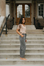 Load image into Gallery viewer, Grey High Waist Jogger - The Frida Joggers