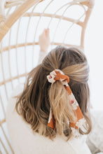 Load image into Gallery viewer, Marmalade Floral Hair Tie