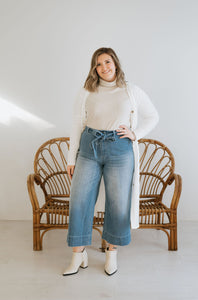 Mallory Cropped Denim