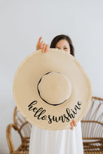 Load image into Gallery viewer, Hello Sunshine Sun Hat