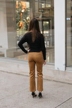 Load image into Gallery viewer, Camel Corduroy Button up Pant - The Taylor Pant