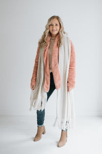 Everyday Modern Scarf - Oatmeal
