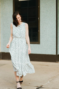 Let's Swing Dalmatian Tiered Midi