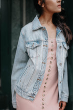 Load image into Gallery viewer, The Light Wash Denim Jacket