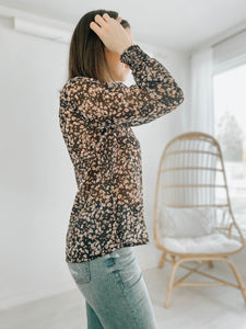Poppy Floral Blouse