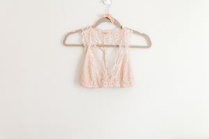 light pink lace bralette, valentine's day gift, intimates