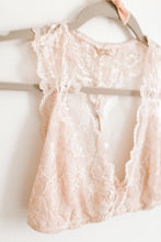 Load image into Gallery viewer, light pink lace bralette, valentine's day gift, intimates