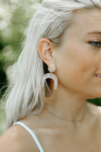 Two-Tone Acetate Stud