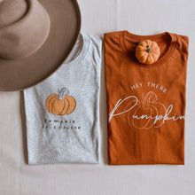 Load image into Gallery viewer, Hey There Pumpkin Graphic Tee