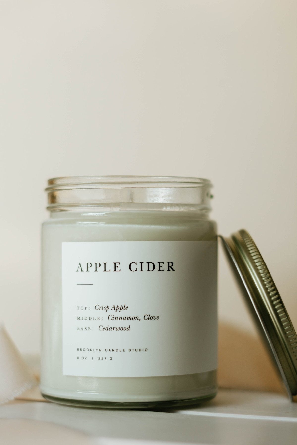 Apple Cider Minimalist Candle