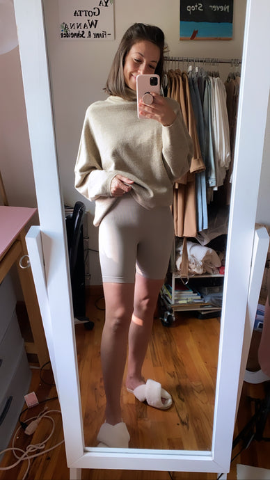 Today's Bike Shorts - Taupe