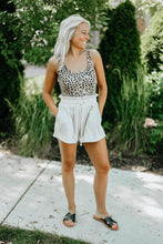 Load image into Gallery viewer, Leopard Print One-Piece Swimsuit