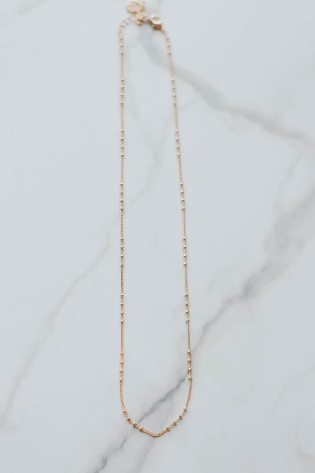 Satellite Chain Necklace - Gold