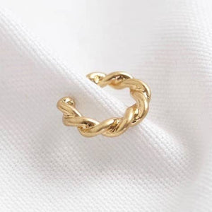 Twisted Earcuff - Gold