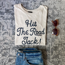 "Load image into Gallery viewer, ""Hit the Road Jack!"" Blank Paige Tee"