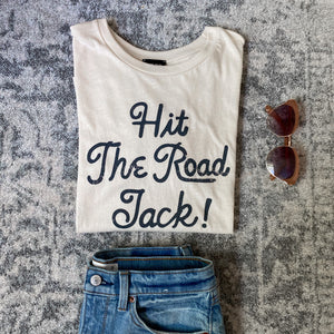 """Hit the Road Jack!"" Blank Paige Tee"