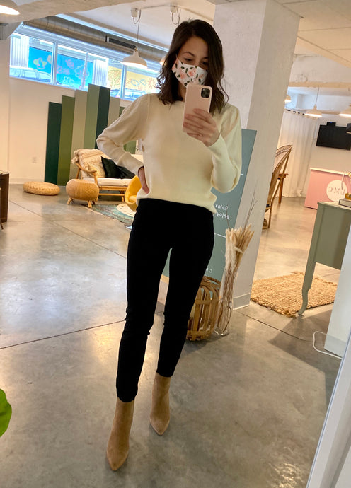 High Waist Ponte Leggings