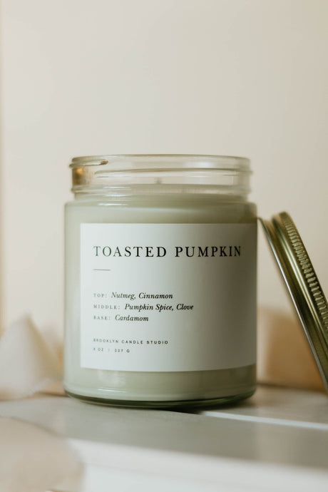 Toasted Pumpkin Minimalist Candle