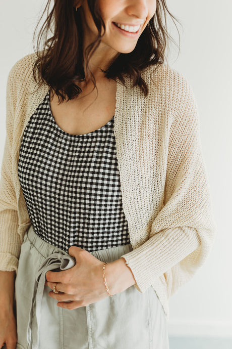 Summer Nights Slouch Cardigan
