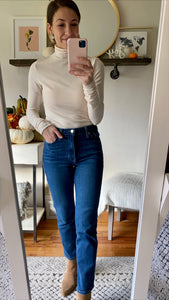 The Daily Turtleneck, Cream