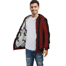 Load image into Gallery viewer, Red Barron Stripped Hoodie by Rify WEAR