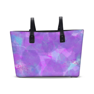 Water Flower Stylish Tote
