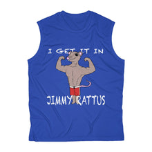 Load image into Gallery viewer, Men's Sleeveless JIMMY RATTUS Performance Tee by RIFY WEAR
