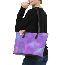 Load image into Gallery viewer, Water Flower Stylish Tote