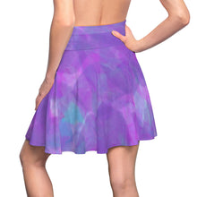 Load image into Gallery viewer, Water Flower Missy Skater Skirt by RIFY WEAR