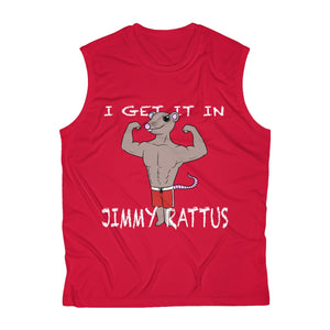 Men's Sleeveless JIMMY RATTUS Performance Tee by RIFY WEAR