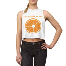 Load image into Gallery viewer, RIFY WEAR Women's Orange Navel  Yoga Collection Crop Top Tank