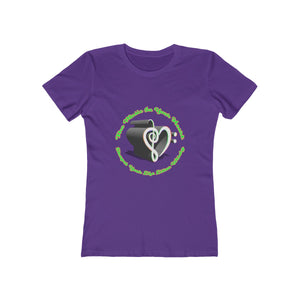 Music In Your Heart Women's The Boyfriend Tee by RIFY WEAR